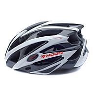 MOON 자전거 헬멧 CE 인증 싸이클링 25 통풍구 산 하프 쉘 남성용 여성용 산악 사이클링 도로 사이클링 사이클링