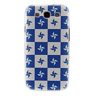 Для Кейс для  Samsung Galaxy С узором Кейс для Задняя крышка Кейс для Плитка PC Samsung S3
