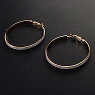 Недорогие $0.99 Модное ювелирное украшение-Жен. Серьги-кольца - Мода Золотой / Серебряный Назначение Для вечеринок Повседневные