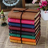 abordables Gadgets para Casa y Despacho-cuadernos creativas hoja negocio duro de la cubierta (más colores, 1 libro)