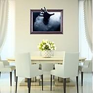 abordables Adhesivos Decorativos-Calcomanías Decorativas de Pared - Calcomanías 3D para Pared 3D Sala de estar / Dormitorio / Habitación de estudio / Oficina