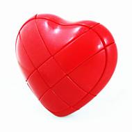 Nou design în formă de inimă Magic IQ Cube Puzzle (Red)