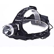 Linternas LED Linternas de Cabeza Faro Delantero LED 1800 lm 3 Modo - para Camping/Senderismo/Cuevas No incluye baterías