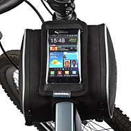 baratos Acessórios para Ciclismo-ROSWHEEL Bolsa Celular / Bolsa para Quadro de Bicicleta 5.5 polegada Sensível ao Toque Ciclismo para Samsung Galaxy S4 / iPhone 5/5S / iPhone 8/7/6S/6 Preto