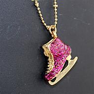 preiswerte -Damen Strass Anhängerketten  -  Personalisiert Einzigartiges Design Modisch Schmuck Gold / Rosa Modische Halsketten Für Party Geburtstag