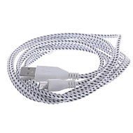 Micro USB 2.0 / USB 2.0 Braided Cable for 200 cm For Nylon