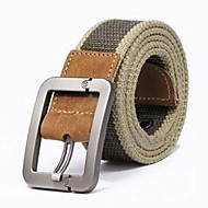 cheap -Men's Street chic Wide Belt - Striped