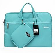"GEARMAX Handbag for MacBook 13.3"" Macbook Pro 13.3"" MacBook Air 11.6""/13.3"" MacBook Pro 13"" with Retina display Solid Color Nylon Material"