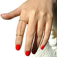cheap -Women's - Alloy Personalized, European, Simple Style 8½ Gold / Silver For Party Daily Casual