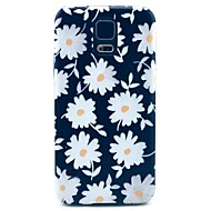 Beautiful Daisies Pattern Hard Case Cover for Samsung Galaxy S5 I9600