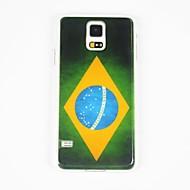 Til Samsung Galaxy etui Etuier Mønster Bagcover Etui Flag PC for Samsung S5