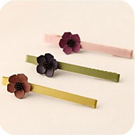 Korean Lady Flowers Duckbill Clip Kid's Hairpins