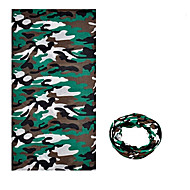 cheap -KORAMAN Neck Gaiter Neck Tube / Headsweat Spring / Summer / Fall Windproof / Ultraviolet Resistant / Wearable Camping / Hiking / Climbing / Cycling / Bike Men's / Women's / Unisex Polyester Camouflage