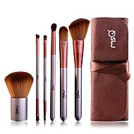 MSQ® 6pcs Makeup Brushes set Goat Hair Powder brush Concealer brush Eyeshadow Brush Lip Brush Eye Lashes Brush Makeup Tools Kit Cosmetic Brushes