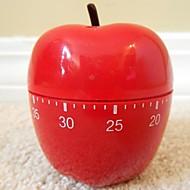 "Red Apple alakú Mechanikus konyhai időzítő, Plastic 2.4 ""X2.4"" X4.12 """