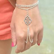 preiswerte -Damen Bettelarmbänder Ring-Armbänder - Einzigartiges Design, Böhmische, Europäisch Armbänder Silber / Bronze Für Party Alltag Normal