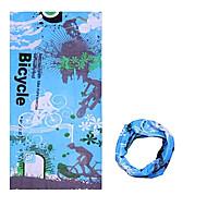 お買い得  -KORAMAN ネックゲートル / Headsweat 春 / 夏 / 秋 防風 / 抗紫外線 / 耐久性 キャンピング&ハイキング / 登山 / サイクリング / バイク 男性用 / 女性用 / 男女兼用 ポリエステル 縞柄 / 高通気性 / 高通気性
