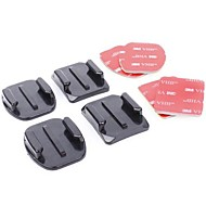 Adhesive Mounts Flat Adhesive Pads Curved Adhesive Pads For Action Camera Gopro 6 All Gopro Universal ABS