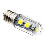 abordables LED e Iluminación-E14 Bombillas LED de Mazorca 7 leds SMD 5050 Decorativa Blanco Natural 80lm 6000K AC 100-240V
