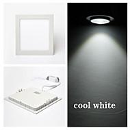 Tavan Işıkları Panel Işıkları Gömme Uyumlu 15 led SMD 2835 Serin Beyaz 300lm 6000-6500K AC 85-265V