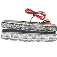 ieftine -2pcs Mașină Becuri 3W W SMD LED 90lm lm 6 LED Bec de Zi