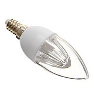 E14 Żarówki LED świeczki 10 Diody lED SMD 3528 Zimna biel 140-160lm 5000-6500K AC 220-240V