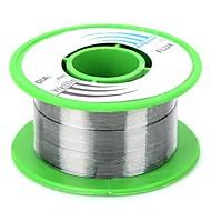 abordables Accesorios para Arduino-wlxy wl-0410 soldadura de estaño 0.4mm roll - plata