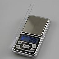abordables Medidores y Balanzas-500g 0.1g mini balanzas electrónicas de sobremesa balanza de cocina de escritorio