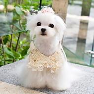 Недорогие Бижутерия и аксессуары для собак-Все сезоны - Косплей - Белый / Желтый - пояс - для Собаки - Смешанные материалы