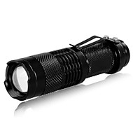 cheap Flashlights, Lanterns & Lights-LED Flashlights / Torch LED 240lm 3 Mode Zoomable / Adjustable Focus / Rechargeable Camping / Hiking / Caving / Everyday Use / Traveling