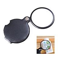 levne Koníčky-kapsa 6x povlak Optická lupa s otočnou koženkovým krytem