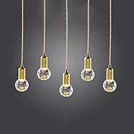 abordables Lámparas Colgantes-Mini Lámparas Colgantes Luz Downlight Dorado Metal Vidrio Mini Estilo, LED 110-120V / 220-240V Bombilla incluida / G9