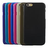 케이스 제품 Apple iPhone 6 Plus / iPhone 6 반투명 뒷면 커버 솔리드 소프트 TPU 용 iPhone 6s Plus / iPhone 6s / iPhone 6 Plus