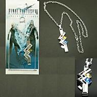 Biżuteria Zainspirowany przez Final Fantasy Lightning Anime / Gry Video Akcesoria do Cosplay Naszyjniki Srebrny Slitina Męskie / Damskie