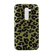 For LG etui Mønster Etui Bagcover Etui Leopardmønster Hårdt PC for LG LG G14