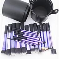 abordables Maquillaje y manicura-22pcs Pinceles de maquillaje Profesional Sistemas de cepillo Pelo Sintético / Pincel de Fibra Artificial Pincel Grande / Clásico / Pincel