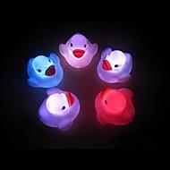 abordables Gadgets LED-pato colorido comodo llevó luz de noche