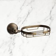 お買い得  浴室用小物-ソープディッシュ&ホルダー 高品質 アンティーク 真鍮 1枚 - ホテルバス