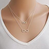 Dam Hänge Halsband Lager Halsband Legering Mode Guld Silver Smycken Speciellt Tillfälle Födelsedag
