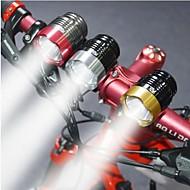 Koplamp fiets LED Cree T6 Wielrennen Schokbestendig Waterbestendig 2000 Lumens USB Fietsen Reizen motocycle