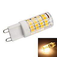 お買い得  LED コーン型電球-G9 3.5ワット2835 SMD 350lm 3000K温白色光がトウモロコシの電球を率い51X(AC 200〜240V)