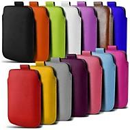 Недорогие Кейсы для iPhone-Кейс для Назначение Apple iPhone 6 iPhone 6 Plus Other Мешочек Сплошной цвет Твердый Кожа PU для iPhone 7 Plus iPhone 7 iPhone 6s Plus