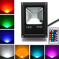1pc 10 W 800 lm 1 LED Beads High Power LED Remote-Controlled RGB 85-265 V