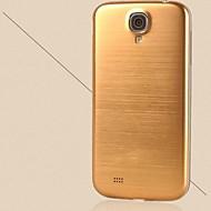 geborsteld metaal aluminium vervangende achterkant behuizing batterijklep voor voor Samsung Galaxy S4 i9500