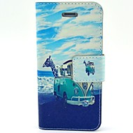 iPhone 4 / 4S用のスクリーンプロテクターとUSBケーブルとスタイラスでココfun®動物バスパターンPUレザーケース