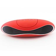 Al Aire Libre Portátil Soporta tarjetas de memoria la ayuda FM Bluetooth 3.0 3.5mm AUX USB altavoces inalámbricos Bluetooth Negro Rojo