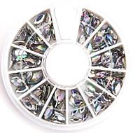 ABS Κοσμήματα Νυχιών Για δάχτυλο toe Lovely τέχνη νυχιών Μανικιούρ Πεντικιούρ Φρούτο / Λουλούδι / Αφηρημένο Καθημερινά / Κινούμενα σχέδια