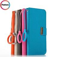 voordelige Galaxy Note-serie hoesjes / covers-promotie zeven wei series telefoon leder gevallen voor Samsung i9260 premier