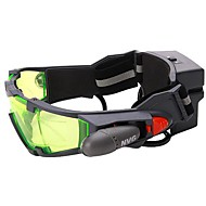 Night Vision Goggles with Flip Out Blue Led Lights Adjustable Waterproof Fogproof General use