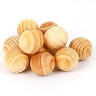 abordables Almacenamiento y Organización-5 piezas de la polilla de aromaterapia natural de las plagas de la madera (color al azar)